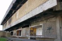 im Krieg zerstörtes Einkaufszentrum der kroatischen Stadt Vukovar