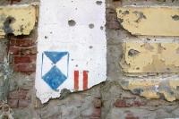 Kriegsspuren in der kroatischen Stadt Vukovar im Nordosten des Landes