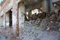 Massive Kriegsspuren in der kroatischen Stadt Vukovar