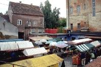 Markt in der kroatischen Stadt Krizevci