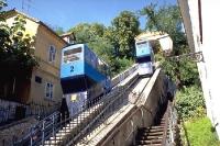 Zahnradbahn in der kroatischen Hauptstadt Zagreb