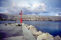 Morgenstimmung auf der kroatischen Adria-Insel Pag