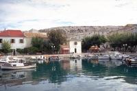 Hafen der Ortschaft Pag auf der gleichnamigen Pag