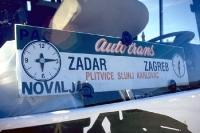 Bus von Zagreb nach Zadar