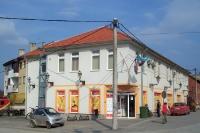 Geschäft in einer kroatischen Ortschaft im Norden des Landes