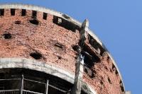 Zerstörter Wasserturm in Vukovar