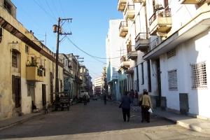 alte Wohnhäuser in Havanna