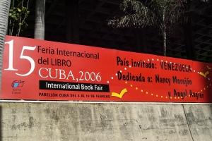 Buchmesse 2006 in Havanna