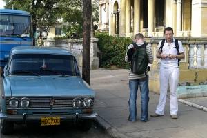 ein Lada in Havanna