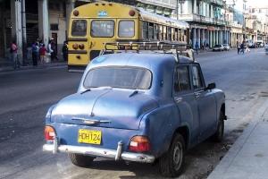 Oldtimer auf den Straßen Havannas