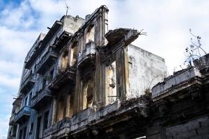Ruine in Havanna