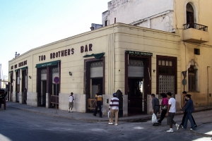 Two Brothers Bar in Havanna