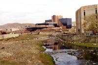 Mongolische Hauptstadt Ulaanbaatar, Herbst 2000