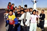 Mongolische Kinder in Ulaanbaatar