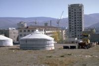 Wohngebiet in Ulaanbaatar