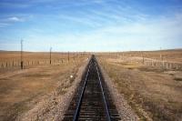 Zugstrecke der Transmongolischen Eisenbahn