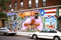 Graffiti in der New Yorker Bronx (1993)