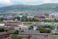 Blick auf die Problemstadt Belfast, Nordirland