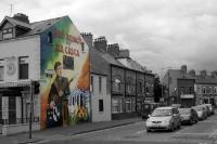 eiri amach na cásca (Osteraufstand 1916), irisches Mural in Belfast