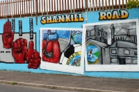 Shankill Road in Belfast, Northern Ireland