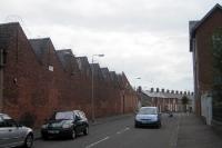 Wohngebiet in Belfast, Northern Ireland