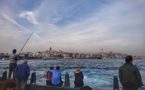 Unterwegs in Istanbul (Türkei)