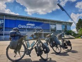 Zwischenstopp im Rostocker Ostseestadion