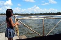 Laguna Quistococha im Andenstaat Peru