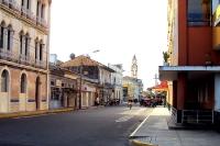 Die Stadt Iquitos im Amazonasgebiet von Peru