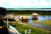 Iquitos im Amazonasgebiet von Peru