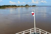 Mit dem Schiff auf dem Solimões / Amazonas von Peru nach Brasilien