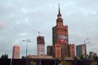 Palac Kultury i Nauki / Kulturpalast in Warschau
