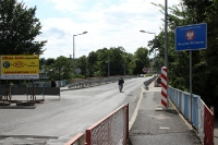 deutsch-polnische Grenze in Görlitz / Zgorzelec