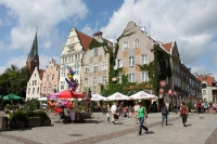 Stadtzentrum von Allenstein / Olsztyn