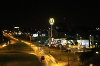 Allenstein / Olsztyn in der Nacht