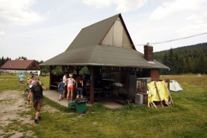 Berghütte Orle im Riesengebirge