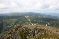 Berglandschaft im Riesengebirge (Karkonosze)