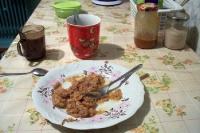 polnisches Bigos (Sauerkraut mit Fleisch)