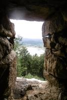 Blick von der Burg / Zamek Henryka