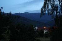 Das Riesengebirge in der Dämmerung