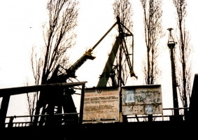 Einstige Leninwerft in Gdansk / Danzig