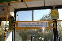 Tram / Straßenbahn in der polnischen Stadt Poznan (Posen), Austragungsort der EM 2012