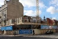 Baustelle im Stadtzentrum von Poznan (Posen), Bauboom vor der EM 2012