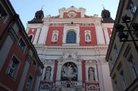 Pfarrkirche in der Altstadt von Poznan (Posen)