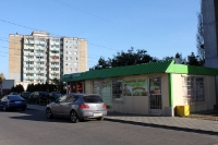 kleines Geschäft in einem Neubaugebiet in Poznan (Posen)