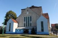 Ehemalige jüdische Synagoge in Poznan (Posen), in der Gegenwart ein Schwimmbad