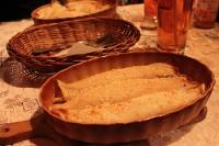 gefüllte Eierkuchen in der Pyrna Chata