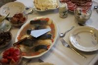 Weihnachtliches Festessen in Polen