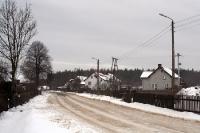 Winter im polnischen Niederschlesien