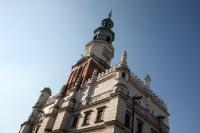 Das Rathaus auf dem Stary Rynek von Poznan